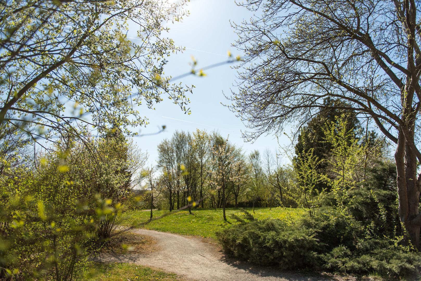 Park am Haus Heimweg in Ansbach